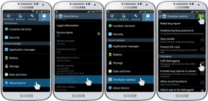 Samsung Galaxy S4 I9500 USB Debugging Mode